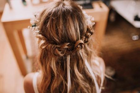 coiffure mariage tresse