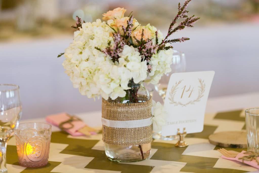 decor de mariage champetre