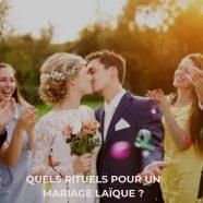 Un mariage laique pour une célébration unique de votre union