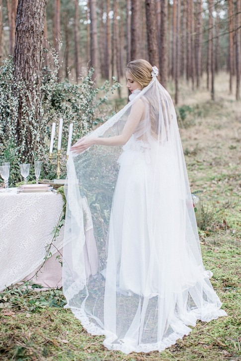 accessoire mariage hivernal