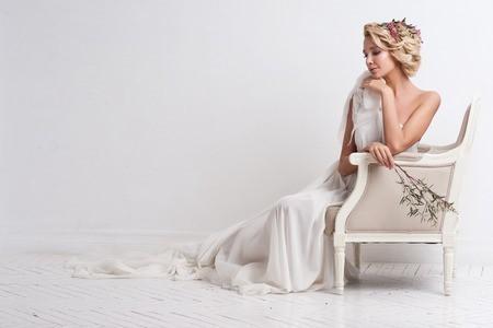 femme en robe mariage
