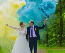 Quels fumigènes choisir pour des photos de mariage ?