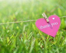 N'oubliez pas de remercier vos invités après votre mariage