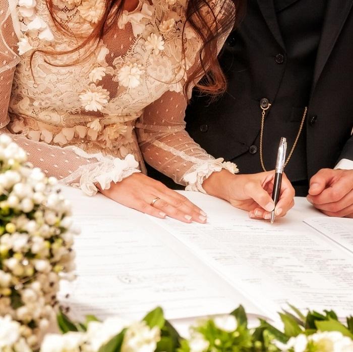 signature acte mariage