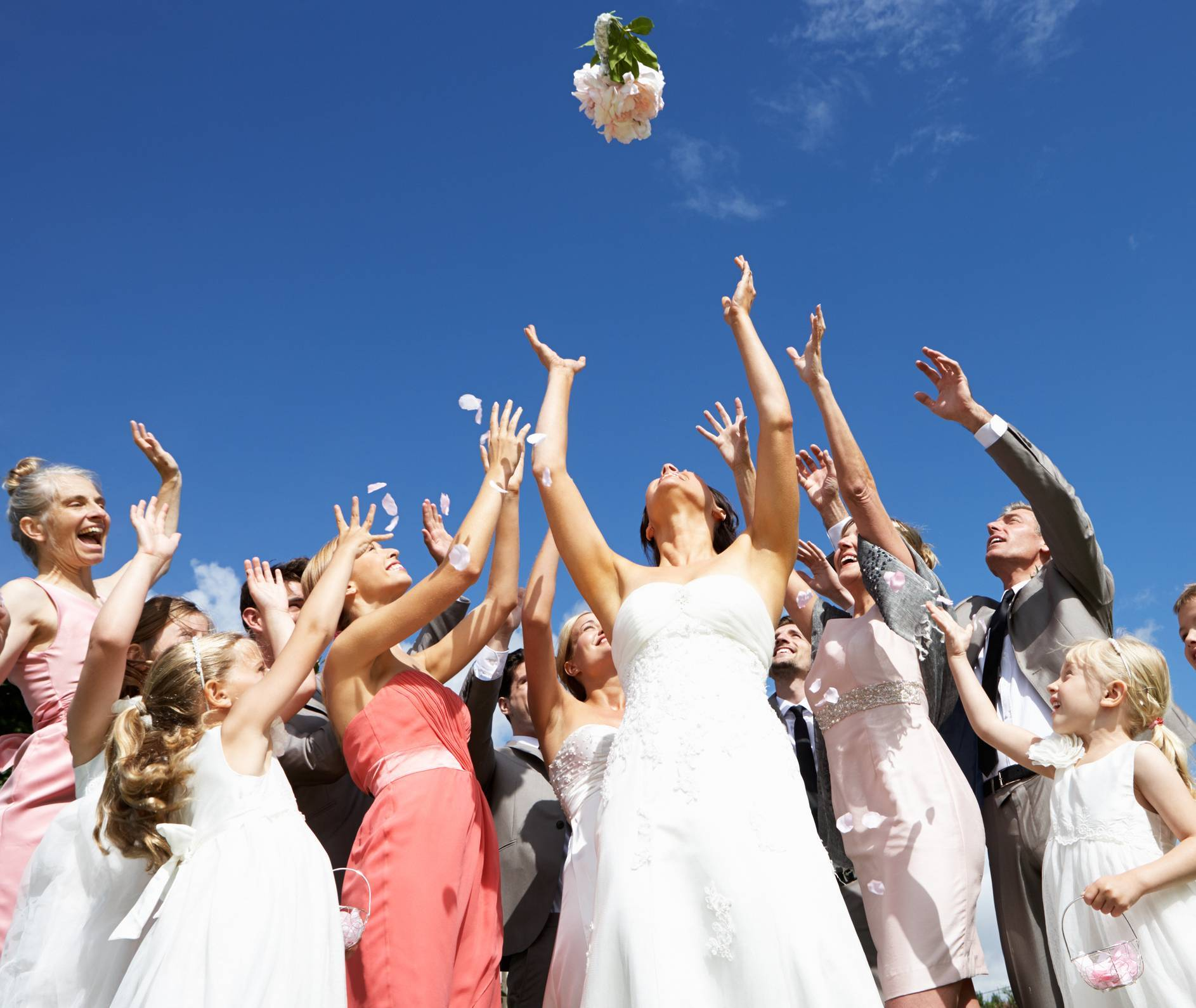 le bouquet de mariage